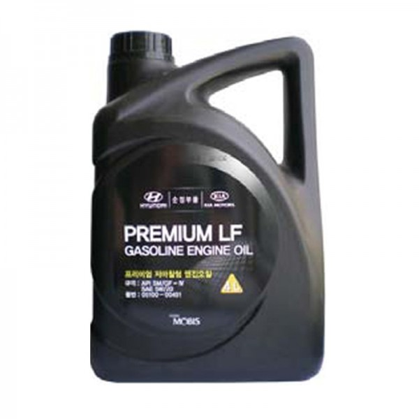 MOBIS PREMIUM GASOLINE ENGINE OIL 5W-20 SM/LF-4(4L...